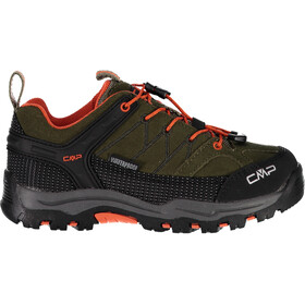 CMP Campagnolo Rigel WP Low Trekking Shoes Kids olive-orange fluo
